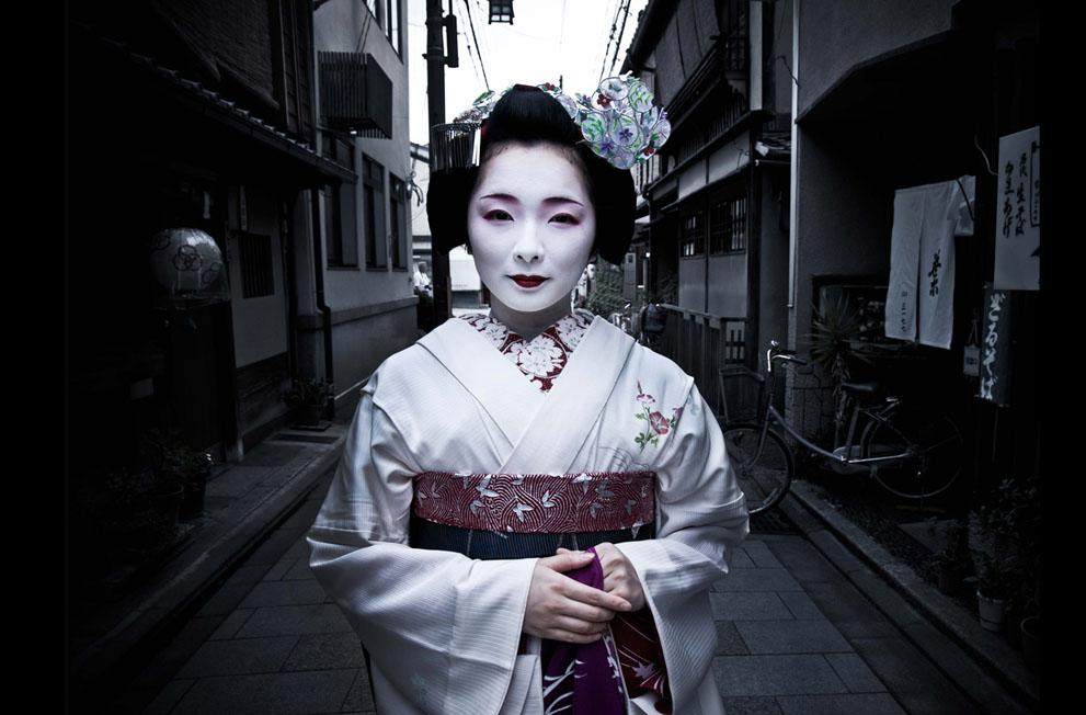 aprendiz de geisha en japon